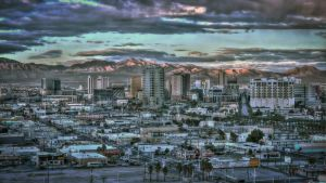 Old downtown Las Vegas by mikytrance