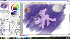 Twilight Alicorn (WIP) by RakshaWw