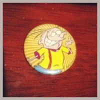 My Eddy pin button by Edness-Madness