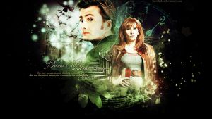 Donna Noble and the Doctor by LissVelaskes