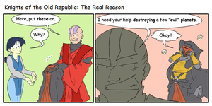 KotOR: The Real Reason by surfersquid
