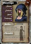 "SamGen card - ""Penelope lvl 1"" by dinmoney"