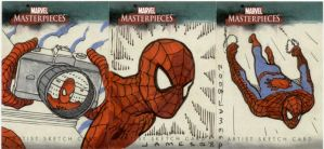 Marvel Sketch Cards by jamesq