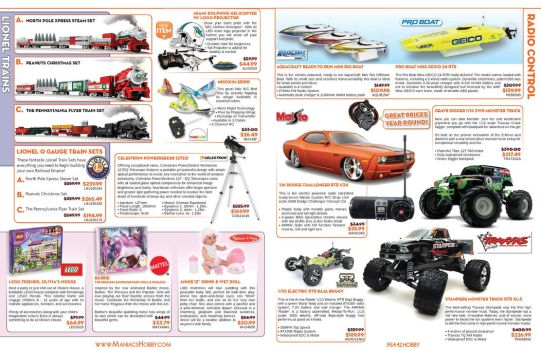 Maniacs Hobby Boy Scouts Event Catalog - Pages 3-6 by jPhive