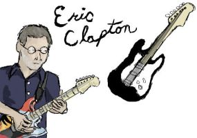 Eric Clapton by clarinetplayer