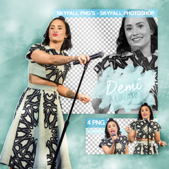 PNG PACK (183) Demi Lovato by DenizBas