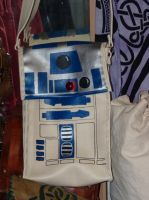 R2D2 leather bag by funkydpression