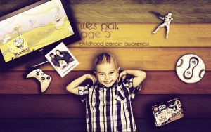 Childhood Cancer Awareness by Velocity-Zero