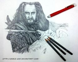 WIP Thorin by Grace-Zed
