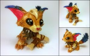 Gnar Sculpture - League of Legends by Euphyley