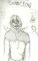 scarecrow costume sketch by Sid-itego