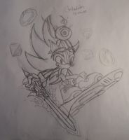 Sketch Perfect Sonic by shadowhatesomochao