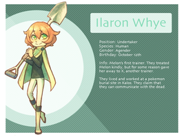 Ilaron Whye Bio Sheet by Xyliax