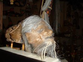 Shrunken Heads 1 by JensStockCollection