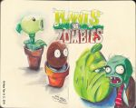 Plants Vs. Zombies by aleksitanninen