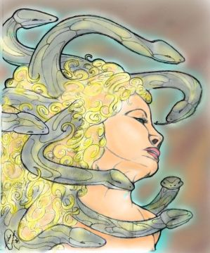 Medusa colored