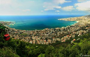Jounieh Bay by cedrus