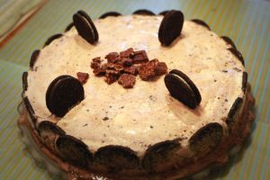 Oreo Ice Cream Crunch Cake by DesaturatedDream