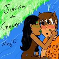 Grover + Juniper by TheGreatUndefeatable