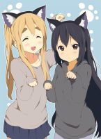azusa and mugi by Ines09adventure