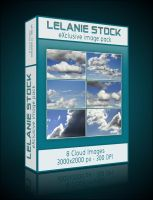 Exclusive Clouds Image Pack 01 by Lelanie-Stock