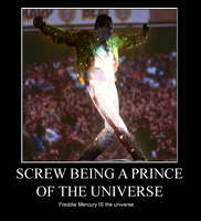 Freddie IS the Universe by mamacros