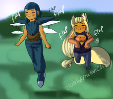 Flap those arms by ClubsOfMeloncholy