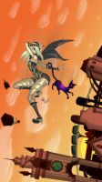Gravity Rush by juanrock