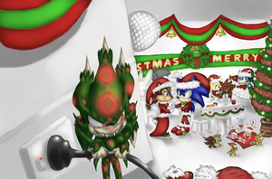 annual xmas ball...wip by monstaris