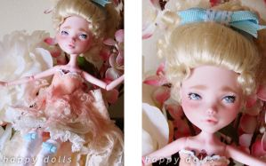 Marie Antoinette custom MH doll by hellohappycrafts