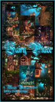 Fairy Place small pack backgrounds by moonchild-ljilja