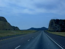I-10 Somewhere Near Ozona, TX by DeloreanREB