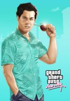 GTA Vice City Poster2 by BrandonArseneault
