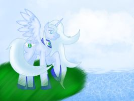 .: A Goddess on the sun's land :. by ASinglePetal