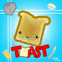 Toast by TheChildInTheCorner