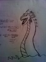 Lindworm of math by Nethernar