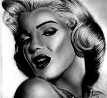 Marilyn Monroe by HarryMichael