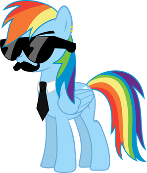 Mane Six Got Swag: Rainbow Dash by l0gun