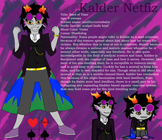 homestuck OC Kalder Netfiz by AquaArtist532