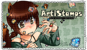 DevID :: a sticky situation by ArtiStamps
