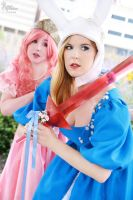 Fancy Adventure Time I by EnchantedCupcake