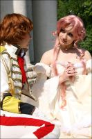 Euphemia and Suzaku by MaruGin