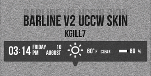 BarLine V2 UCCW Skin by kgill77