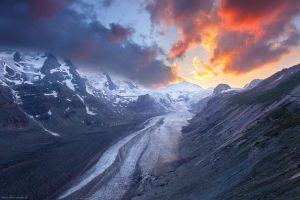 Glacier on Fire by Dave-Derbis