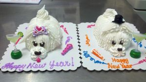 New Years Critters by AingelCakes