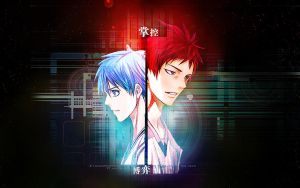 Kuroko no Basuke:control and fight by liangmin