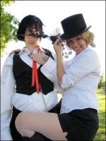 Trancy and His Butler by Kimu-Kumo