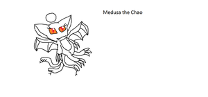 Medusa the Chao by Me-MowTheCat