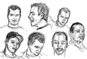 Faces of Thelbert by Hoabert