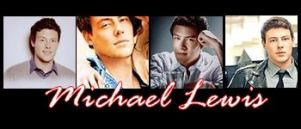 Cannon - Cory Monteith aka Michael Lewis by dirtypicture